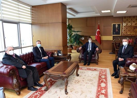 Kastamonu Üniversitesi Rektörü Prof. Dr. A. Hamdi Topal'ı ziyaret