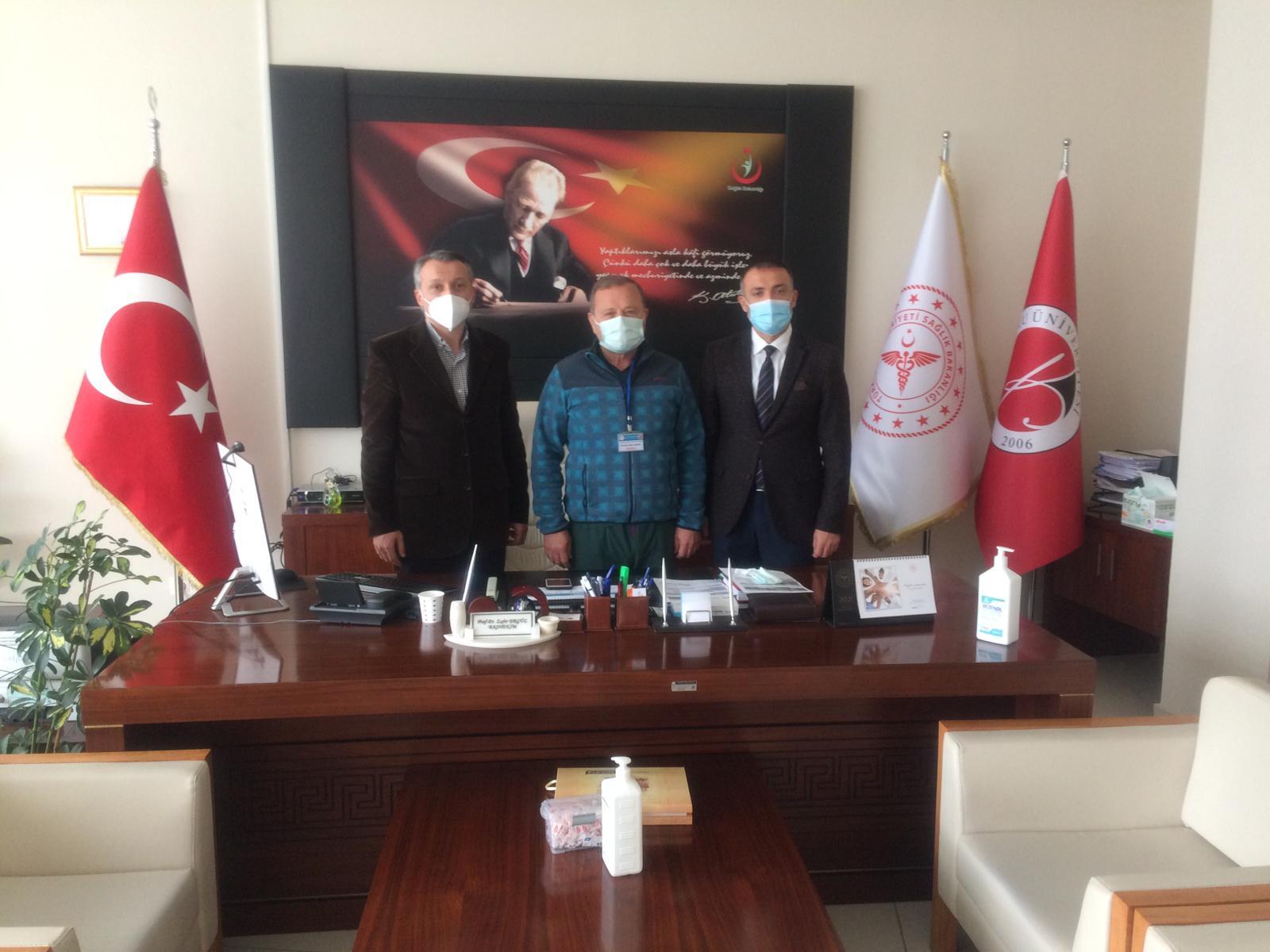 Özel Anadolu'dan KEAH'a ziyaret: Hastane kardeşliği